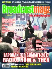 Cover Majalah Broadcast Magz ED 72 Desember 2017