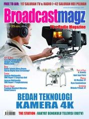 Cover Majalah Broadcast Magz ED 73 Januari 2018