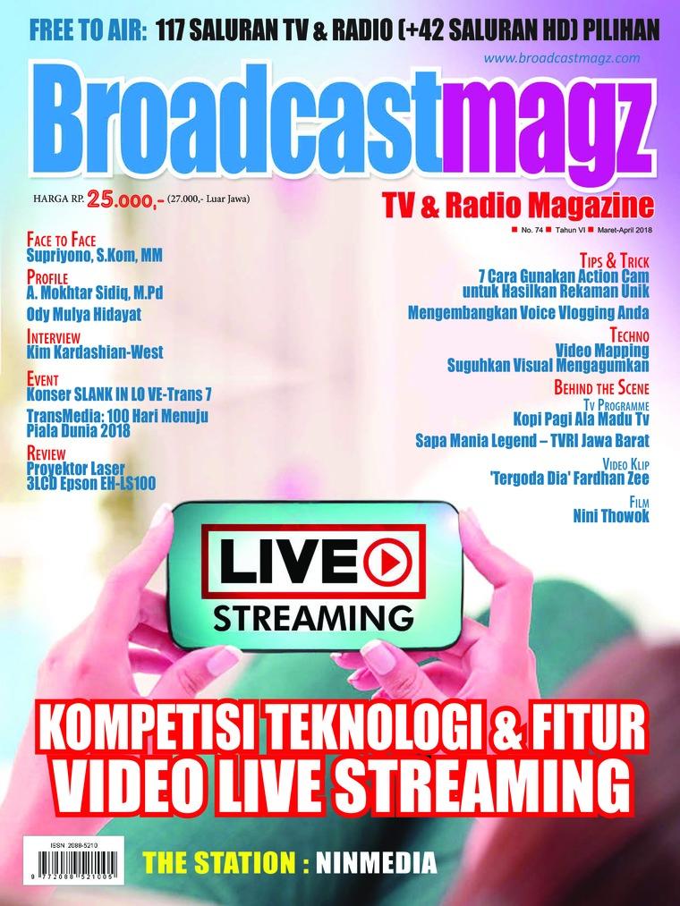 Majalah Digital Broadcast Magz ED 74 Maret 2018