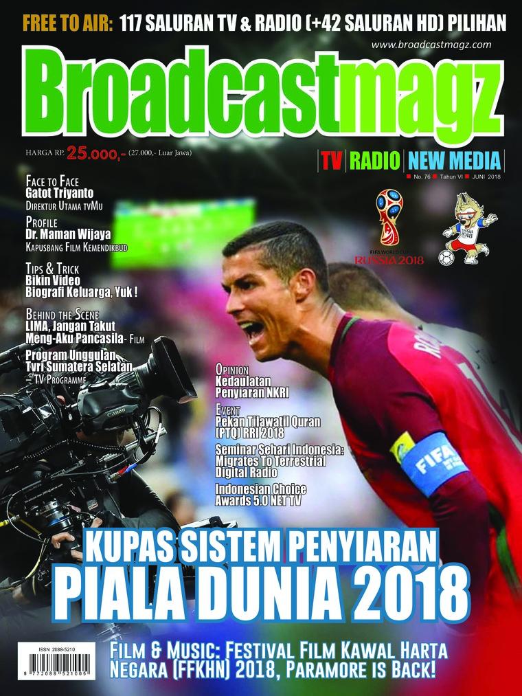 Majalah Digital Broadcast Magz ED 76 Juni 2018