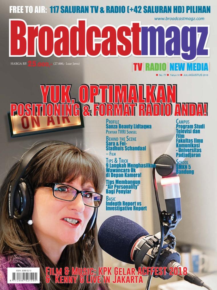 Majalah Digital Broadcast Magz ED 77 Agustus 2018