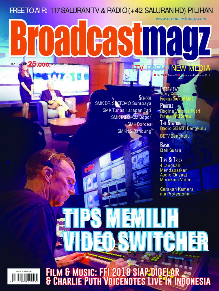 Majalah Digital Broadcast Magz ED 79 November 2018