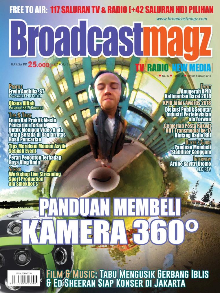 Majalah Digital Broadcast Magz ED 80 Januari 2019