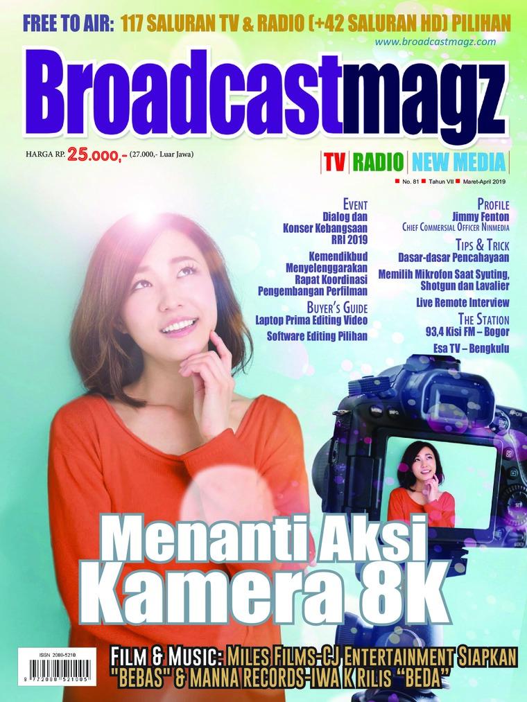 Majalah Digital Broadcast Magz ED 81 Maret 2019