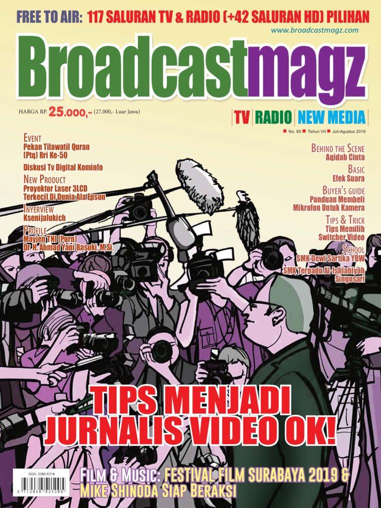 Broadcast Magz Digital Magazine ED 82 August 2019