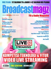 Cover Majalah Broadcast Magz ED 74 Maret 2018
