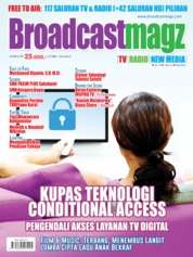 Broadcast Magz Magazine Cover ED 75 May 2018