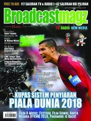 Cover Majalah Broadcast Magz ED 76 Juni 2018