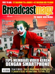 Cover Majalah Broadcast Magz ED 84 Oktober 2019