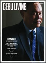 CEBU LIVING Magazine Cover July–September 2015