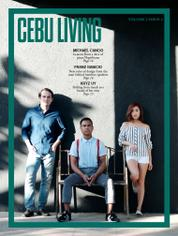 CEBU LIVING Magazine Cover January–April 2016