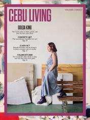 CEBU LIVING Magazine Cover April–June 2016