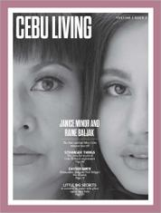 CEBU LIVING Magazine Cover April–June 2017