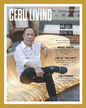 Cover Majalah CEBU LIVING