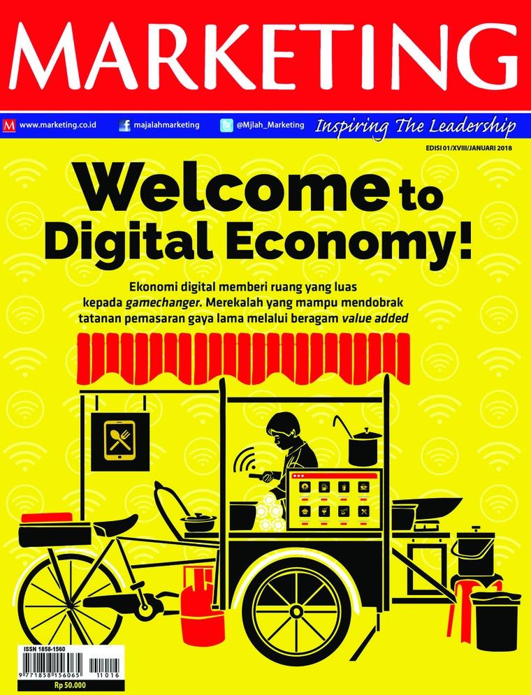 Majalah Digital MARKETING Januari 2018