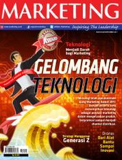 Cover Majalah MARKETING September 2017