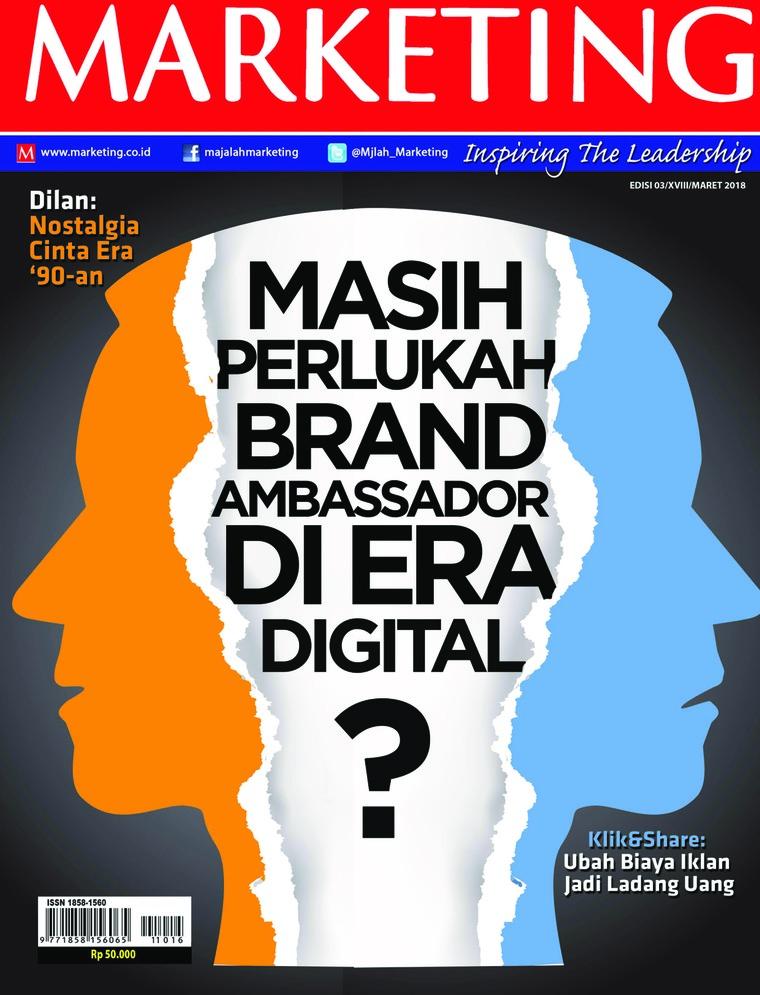 Majalah Digital MARKETING Maret 2018