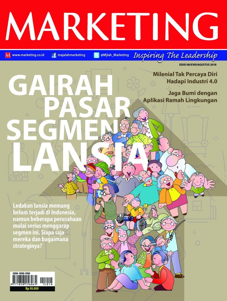 Majalah Digital MARKETING Agustus 2018