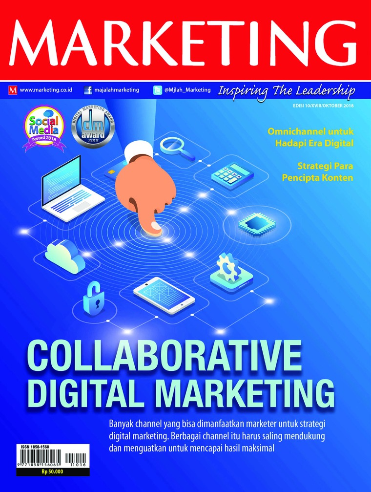 Majalah Digital MARKETING Oktober 2018