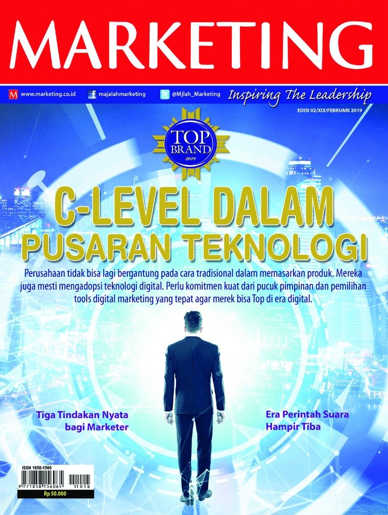 Majalah Digital MARKETING Februari 2019
