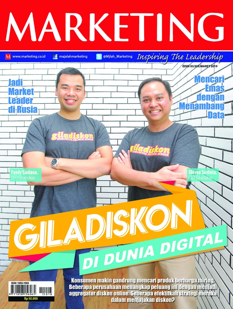 Majalah Digital MARKETING Maret 2019