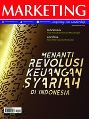 Cover Majalah MARKETING Juli 2018