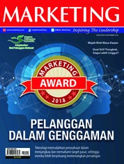 Cover Majalah MARKETING September 2018