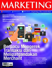 Cover Majalah MARKETING November 2018