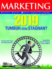 Cover Majalah MARKETING Desember 2018