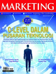 Cover Majalah MARKETING Februari 2019