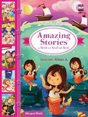 Cover Amazing Stories to Read and Read and Read (Bilingual Book) oleh