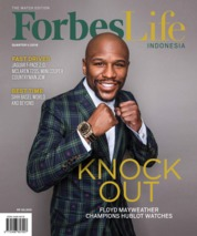 Forbes Life Magazine Cover ED 14 April 2018