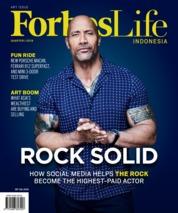 Cover Majalah Forbes Life ED 17 Januari 2019