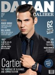DAMAN Caliber Magazine Cover ED 01 2014