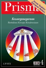 Cover PRISMA : Kewarganegaraan oleh Tim Prisma