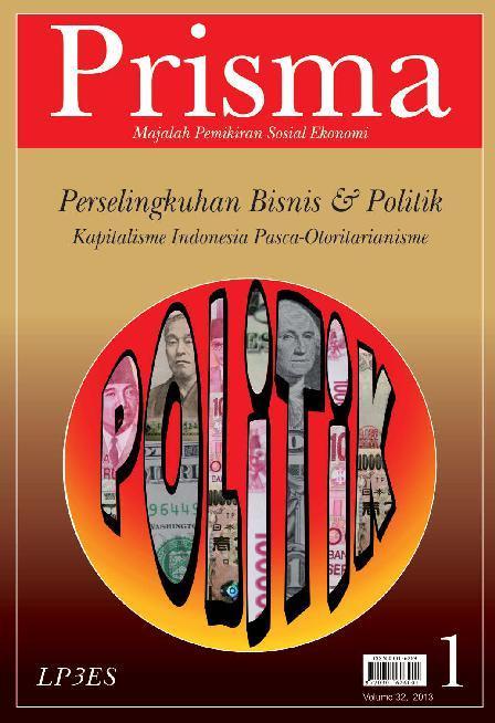 Buku Digital PRISMA : Perselingkuhan Bisnis & Politik oleh Tim Prisma