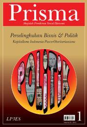 Cover PRISMA : Perselingkuhan Bisnis & Politik oleh Tim Prisma