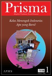 Cover PRISMA : Kelas Menengah Indonesia oleh Tim Prisma