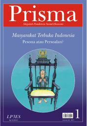 Cover PRISMA : Masyarakat Terbuka oleh Tim Prisma