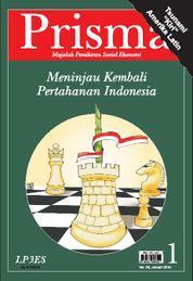 Cover PRISMA : Meninjau Kembali Pertahanan Indonesia oleh Tim Prisma