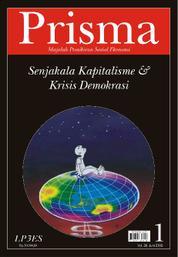Cover PRISMA : Senjakala Kapitalisme & Krisis Demokrasi oleh Tim Prisma