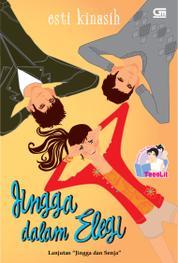 Cover TeenLit: Jingga Dalam Elegi oleh Esti Kinasih