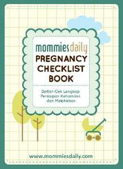 Cover Mommies Daily Pregnancy Checklist Book oleh