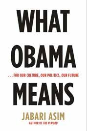 Cover What Obama Means oleh Jabari Asim
