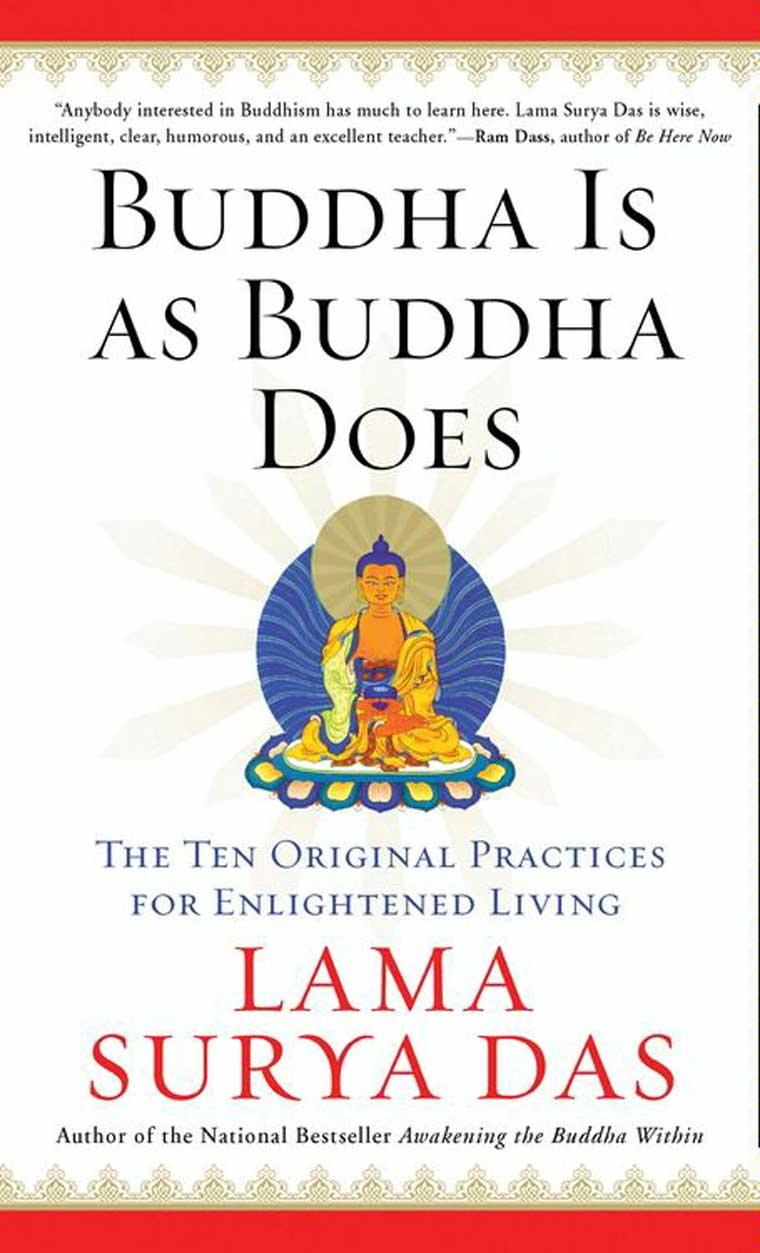 Buddha Is as Buddha Does by Surya Das Digital Book