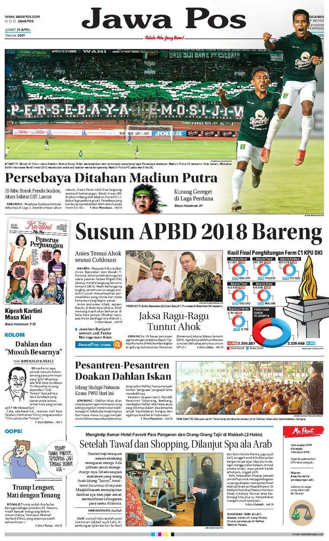 Koran Digital Jawa Pos 21 April 2017