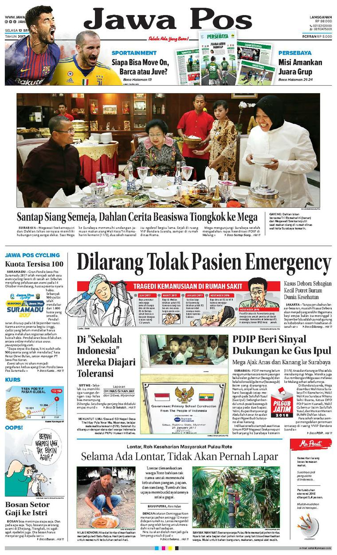 Jawa Pos Newspaper 12 September 2017 - Gramedia Digital