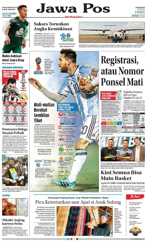 Koran Digital Jawa Pos 12 Oktober 2017