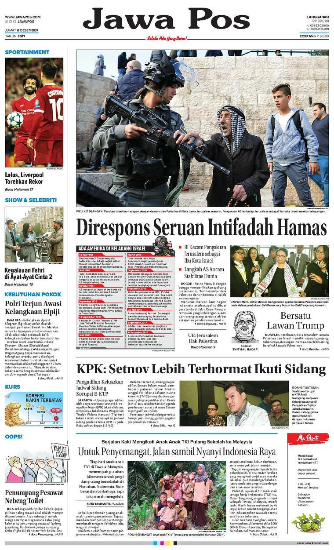 Koran Digital Jawa Pos 08 Desember 2017