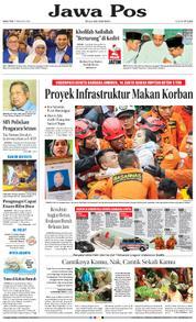 Cover Jawa Pos 07 Februari 2018